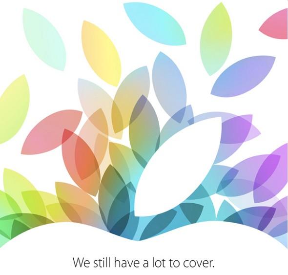 Apple - zaproszenie na 22 października 2013