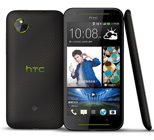 HTC Desire 709d - front i tył