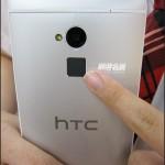 HTC One Max - tyl, czytnik linii papilarnych