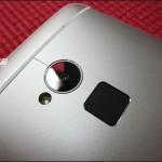 HTC One Max - tyl, obiektyw kamery