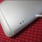 HTC One Max - tyl, zlacze stacji dokujacej