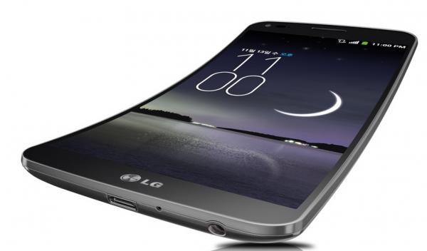 LG G Flex - oficjalnie, front i dół