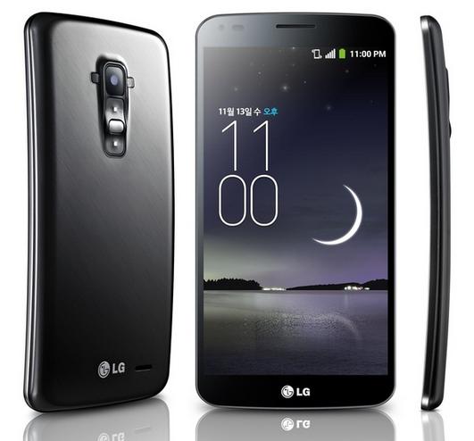 LG G Flex - oficjalnie, rzuty