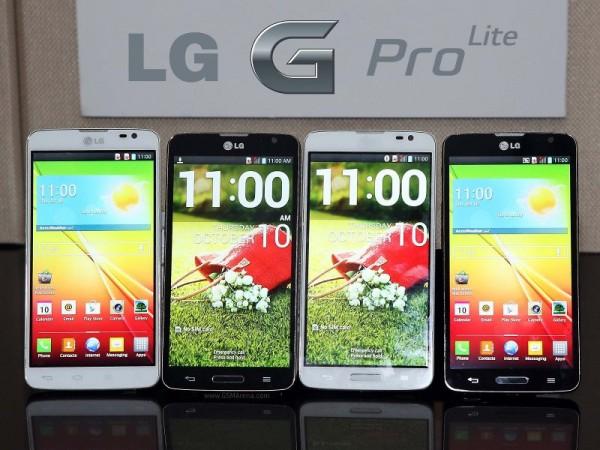 LG G Pro Lite - zestaw
