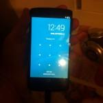 LG Nexus 5 - front ekranu