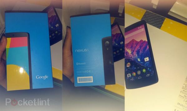 LG Nexus 5 - kartoniki w sklepie