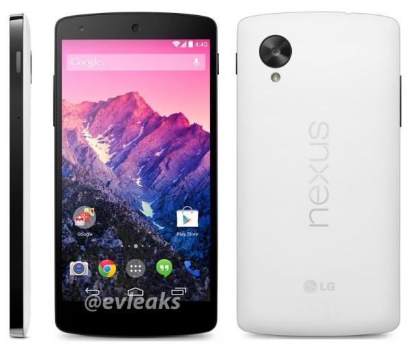 LG Nexus 5 - prasówka, biały