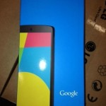 LG Nexus 5 - pudelko