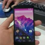 LG Nexus 5 - w dloni 2