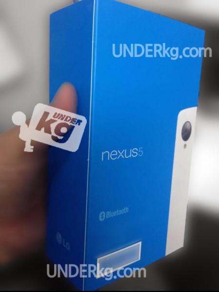 LG Nexus 5 w pudełku sklepowym - biały