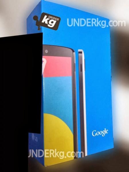 LG Nexus 5 w pudelku sklepowym