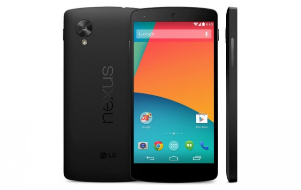 LG Nexus 5 z Google Play