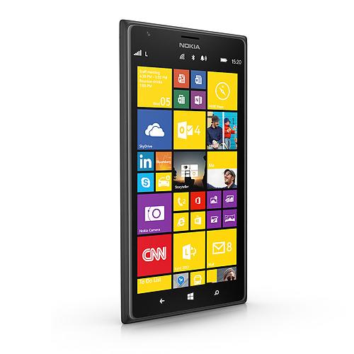 Nokia Lumia 1520 - czarna, rzut