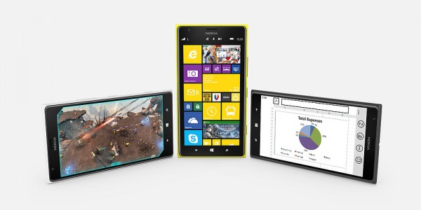 Nokia Lumia 1520 - ekrany