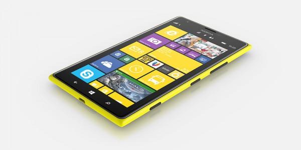 Nokia Lumia 1520 - izometryczny