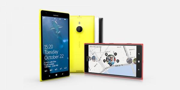 Nokia Lumia 1520 - rzuty