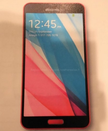 Samsung Galaxy J - front