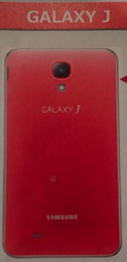 Samsung Galaxy J - tył