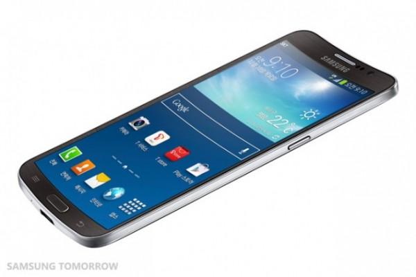 Samsung Galaxy Round - róg
