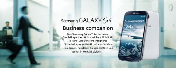 Samsung Galaxy S4 ze Snapdragonem 800 - niemiecki baner