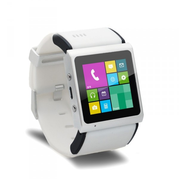 Goophone Smart Watch - bialy