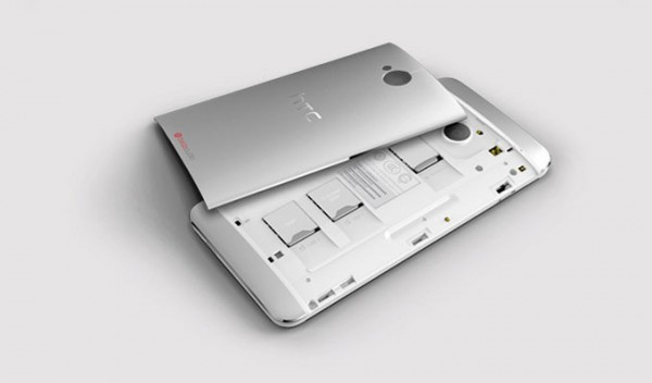 HTC One Dual SIM - pokrywa