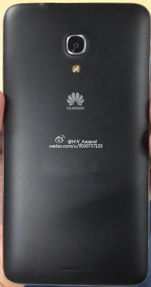 Huawei Ascend Mate 2 - tył