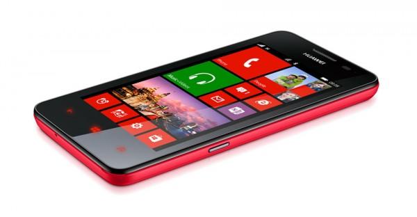Huawei Ascend W2 - czerwony