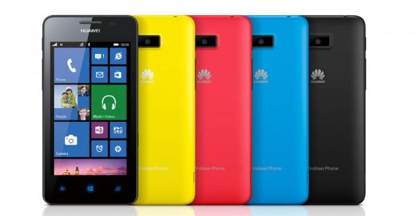Huawei Ascend W2 - kolory
