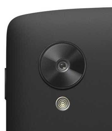 LG Nexus 5 - kamera