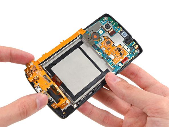 LG Nexus 5 - rozebrany