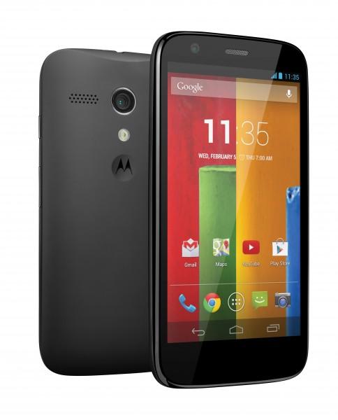 Motorola Moto G - przód i tył