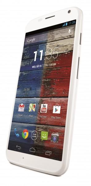 Motorola Moto X - biała, front