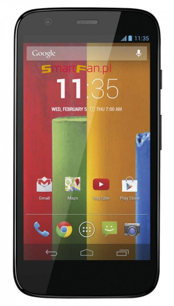 Motorola Moto G - front