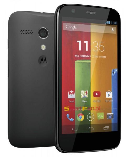 Motorola Moto G - front i tył