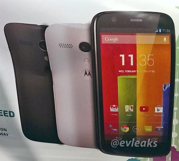 Motorola Moto G - plakat