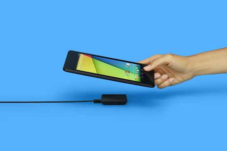 Nexus Wireless Charger - w użytku