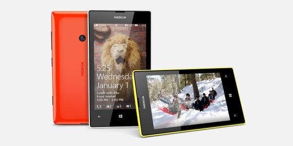 Nokia Lumia 525 - kilka kolorów