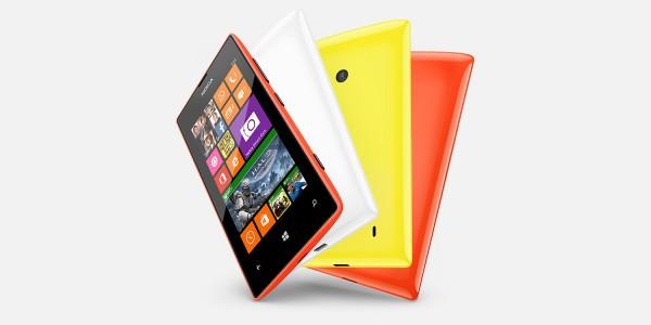 Nokia Lumia 525 - kilka kolorów i tył