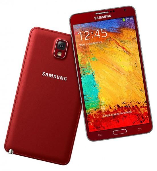 Samsung Galaxy Note 3 - czerwony