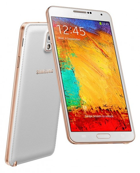 Samsung Galaxy Note 3 - zloty