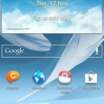 Samsung Galaxy Note II - Android 4.3 Jelly Bean 1