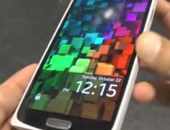 Samsung Z9005 Redwood uchwycony na nagraniu wideo