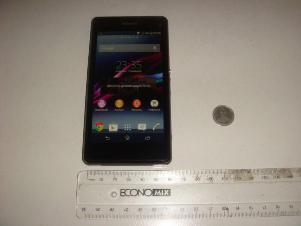 Sony Xperia Z1s - front