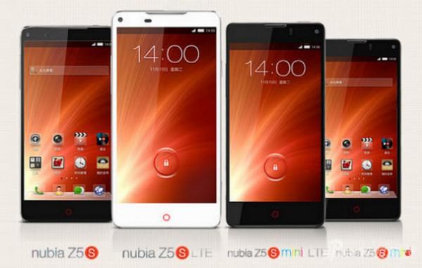 ZTE Nubia Z5S i Nubia Z5S Mini