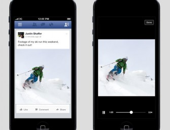 Mobilna aplikacja Facebooka automatycznie odtworzy filmy