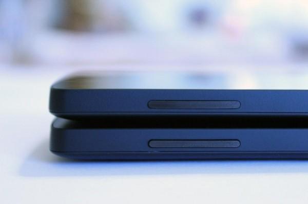 LG Nexus 5 - nowe przyciski regulacji głośności