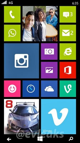 Nokia Lumia 635 Moneypenny - zrzut ekranu