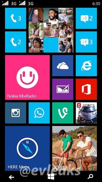Nokia Lumia 630/635 - zrzut ekranu