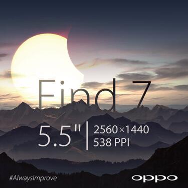 Oppo Find 7 - zwiastun